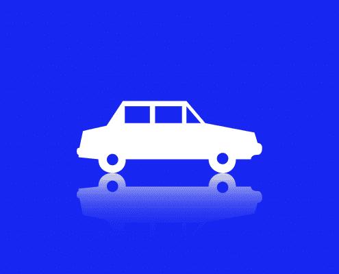 Voorgrond-voertuig-belettering